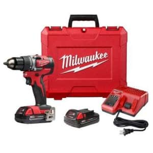 Milwaukee M18 18V Cordless Drill/Driver Kit for $149 in cart