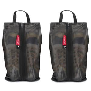 Pack All Water-Resistant Shoe Bag 2-Pack for $25