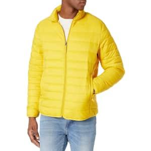 Amazon Essentials Men's Packable Puffer Jacket from $15