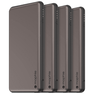 Mophie Powerstation Plus 6,000mAh USB-C Bank 4-Pack for $24