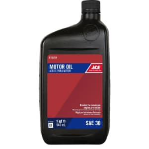 Ace Motor Oil at Ace Hardware: for $3