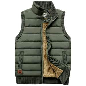 Vcansion Men's Outdoor Vest for $20