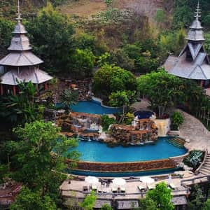 5-Night Thailand Mountainside Spa Resort Stay at Travelzoo: for $399 for 2