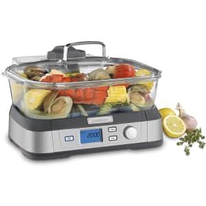 Cuisinart CookFresh 5.3-Quart Digital Glass Food Steamer for $120