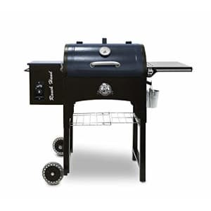 PIT BOSS PB440TGR1 Portable Folding Legs Pellet Smoker Grill, Black for $654