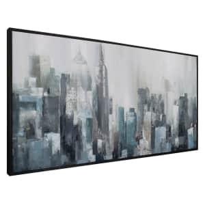 """Fine Art Canvas """"Domain"""" 24"""" x 48"""" Framed Canvas Wall Art for $45"""