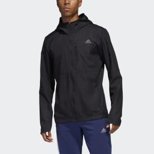 adidas Men's Own the Run Hooded Wind Jacket for $28, or 2 for $39