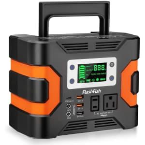 FF Flashfish 330W Portable Power Station for $240