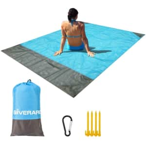 Giverare Sandfree Beach Blanket for $8