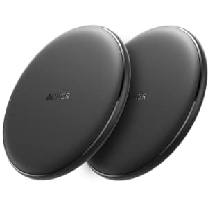 Anker PowerWave Qi Wireless Charger Pad 2-Pack for $24