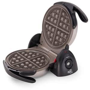 Presto 03510 Ceramic FlipSide Belgian Waffle Maker,Black for $50