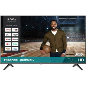 """Hisense 43"""" 1080p HD Smart Android TV for $300"""