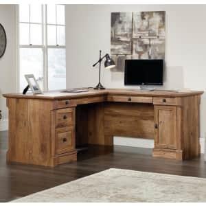 Sauder Palladia L-Shaped Desk for $358