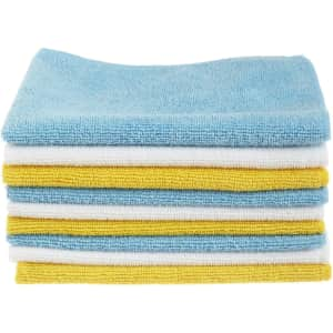AmazonBasics Microfiber Cleaning Cloth 24-Pack for $11