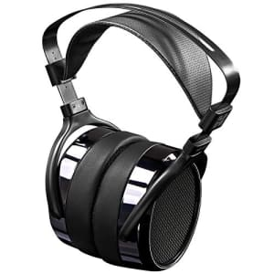 HiFiMan HE400i Special Edition over ear planar magnetic headphones in Dark Blue Chrome for $221