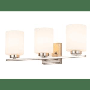 Kingbrite 3 Bulb E26 Bathroom Vanity Light Fixture for $82