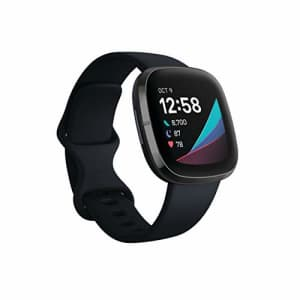 Fitbit Sense Advanced Smartwatch with Tools for Heart Health, Stress Management & Skin Temperature for $299