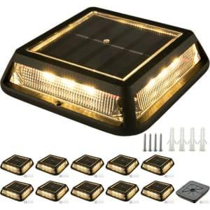 Vevor Solar Deck Lights 12-Pack for $95