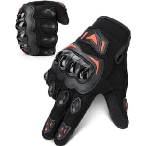 Kemimoto Touchscreen Waterproof Motorcycle Gloves for $13