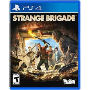 Strange Brigade for PS4/PS5 for $4