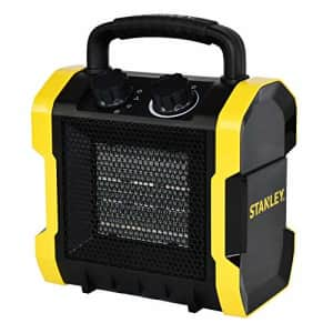 STANLEY ST-222A-120 Electric Heater, Black, Yellow for $45