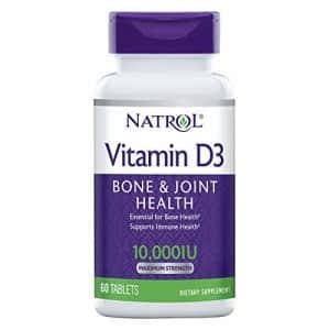 Natrol Vitamin D3 10,000 IU Tablets, 60 Count for $10