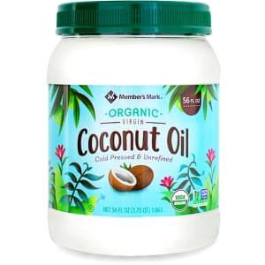 Member's Mark Organic Virgin Coconut Oil 56-oz. Jar for $7.84 for members