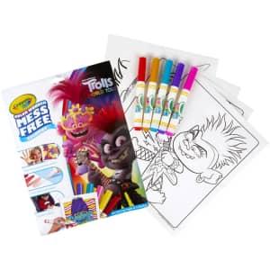 Crayola Wonder Trolls Mess-Free Coloring Kit for $8