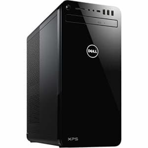 Dell 8930 XPS Tower Desktop Computer, 9th Generation Intel Core i7-9700, NVIDIA GeForce GTX 1050Ti for $1,519