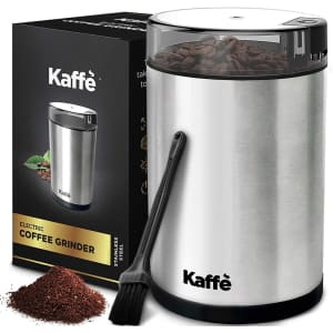 Kaffe Electric Coffee Grinder for $22