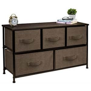 Sorbus Dresser with 5 Drawers - Furniture Storage Chest Tower Unit for Bedroom, Hallway, Closet, for $69