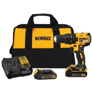 """DeWalt 20V Max 1/2"""" Brushless Cordless Drill Kit for $99"""
