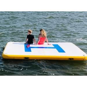 Vevor 6-foot Inflatable Dock Platform for $190