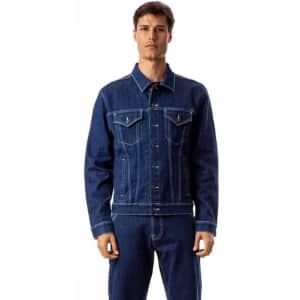 Jordache Vintage Men's Cameron Oversized Trucker Jacket for $15