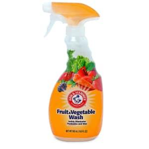 Arm & Hammer Fruit & Vegetable Wash 16.9-oz. Bottle for $11