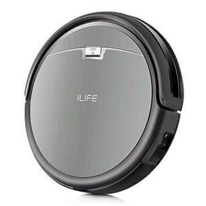 ILIFE A4s Robot Vacuum Cleaner with Strong Suction, over 100mins Run time, Self-charging, Slim, for $160