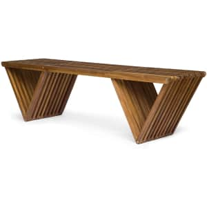 Christopher Knight Home Esme Outdoor Acacia Wood Bench for $181