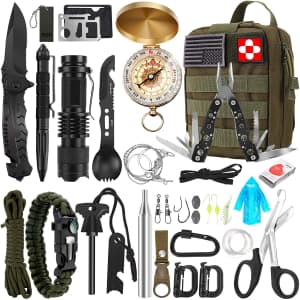 Verifygear 32-in-1 Emergency Survival Kit for $30