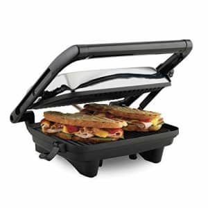 Hamilton Beach Panini Press Gourmet Sandwich Maker for $40