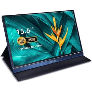 "LePow Z1 Pro 15.6"" 1080p USB-C Portable Monitor for $199"