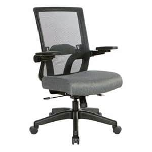 Office Star 867 Series Adjustable Manager's Chair with Breathable Mesh Back, Lumbar Support and for $303