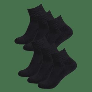 32 Degrees Men's Quarter-Length Socks 6-Pack for $7
