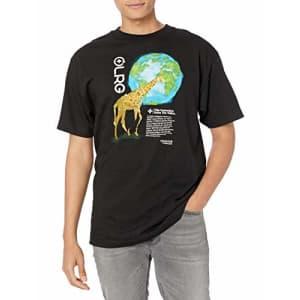 LRG Men's Spring 21 Graphic Designed Logo T-Shirt, Nation Black, Medium for $23