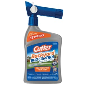 Cutter Backyard Bug Control Spray Concentrate 32-oz. Bottle for $6.99 for members