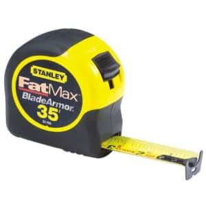 STANLEY FATMAX Tape Measure, 35-Foot (33-735) for $39