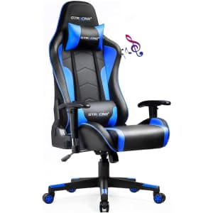 Gtracing Gaming Chair w/ Speakers for $95
