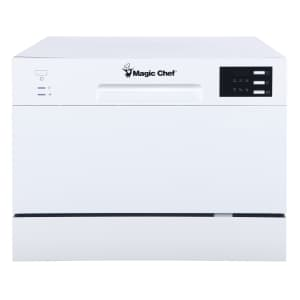 Magic Chef Energy Star 6-Place Setting Countertop Dishwasher for $250