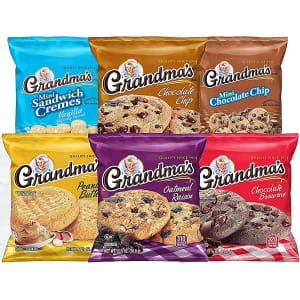 Grandma's Cookies 30-Count Variety Pack for $14 w/ Sub & Save