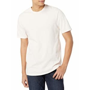 Volcom Men's Solid Stone Short Sleeve T-Shirt, Salty Pink, Large for $28
