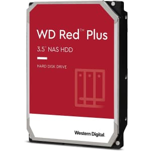 """WD Red 3TB NAS Internal 3.5"""" Hard Drive for $108"""